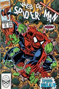 Cover Thumbnail for Web of Spider-Man (Marvel, 1985 series) #70 [Direct Edition]