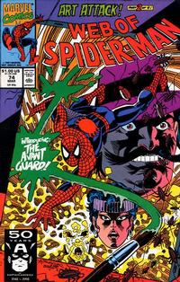 Cover Thumbnail for Web of Spider-Man (Marvel, 1985 series) #74 [Direct Edition]