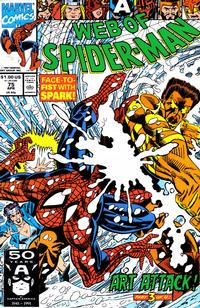 Cover Thumbnail for Web of Spider-Man (Marvel, 1985 series) #75 [Direct]
