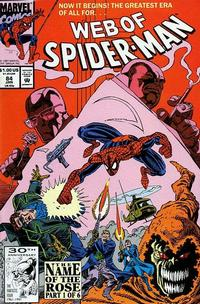 Cover Thumbnail for Web of Spider-Man (Marvel, 1985 series) #84 [Direct Edition]