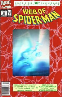 Cover Thumbnail for Web of Spider-Man (Marvel, 1985 series) #90 [Newsstand]