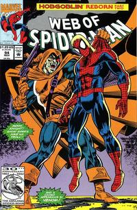 Cover Thumbnail for Web of Spider-Man (Marvel, 1985 series) #94 [Direct Edition]