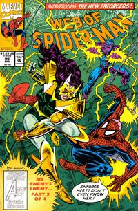 Cover Thumbnail for Web of Spider-Man (Marvel, 1985 series) #99 [Direct Edition]