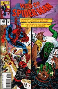 Cover Thumbnail for Web of Spider-Man (Marvel, 1985 series) #109 [Direct Edition]