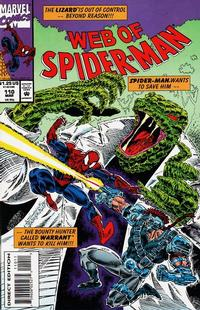 Cover Thumbnail for Web of Spider-Man (Marvel, 1985 series) #110 [Direct Edition]