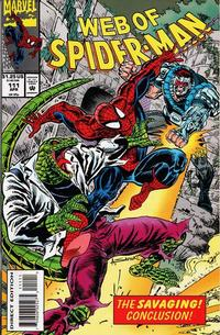 Cover Thumbnail for Web of Spider-Man (Marvel, 1985 series) #111 [Direct Edition]