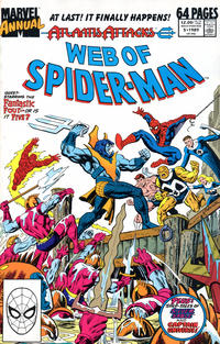 Cover Thumbnail for Web of Spider-Man Annual (Marvel, 1985 series) #5 [Direct]