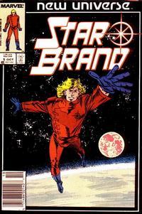 Cover Thumbnail for Star Brand (Marvel, 1986 series) #1 [Newsstand]