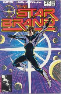 Cover Thumbnail for Star Brand (Marvel, 1986 series) #11