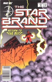 Cover Thumbnail for Star Brand (Marvel, 1986 series) #17