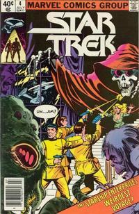 Cover for Star Trek (Marvel, 1980 series) #4 [Newsstand]