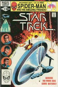 Cover Thumbnail for Star Trek (Marvel, 1980 series) #17 [Direct]