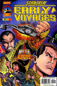 Cover Thumbnail for Star Trek: Early Voyages (Marvel, 1997 series) #2