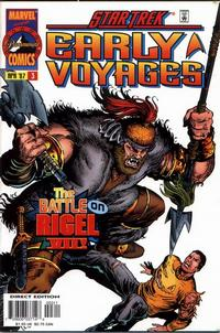 Cover Thumbnail for Star Trek: Early Voyages (Marvel, 1997 series) #3