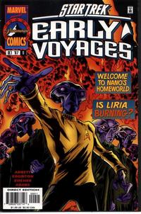 Cover Thumbnail for Star Trek: Early Voyages (Marvel, 1997 series) #9