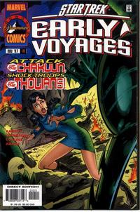 Cover Thumbnail for Star Trek: Early Voyages (Marvel, 1997 series) #10