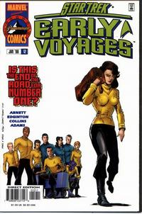 Cover Thumbnail for Star Trek: Early Voyages (Marvel, 1997 series) #12