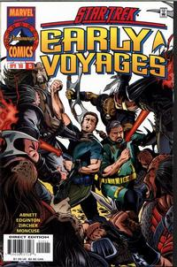 Cover Thumbnail for Star Trek: Early Voyages (Marvel, 1997 series) #15