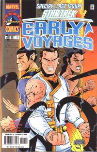 Cover Thumbnail for Star Trek: Early Voyages (Marvel, 1997 series) #17
