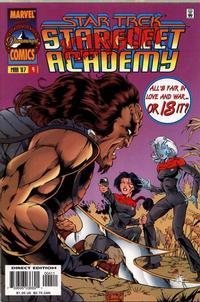 Cover Thumbnail for Star Trek: Starfleet Academy (Marvel, 1996 series) #4