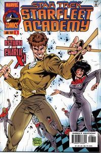 Cover Thumbnail for Star Trek: Starfleet Academy (Marvel, 1996 series) #8