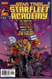 Cover Thumbnail for Star Trek: Starfleet Academy (Marvel, 1996 series) #9