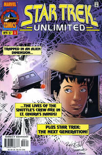 Cover Thumbnail for Star Trek Unlimited (Marvel, 1996 series) #3 [Direct Edition]