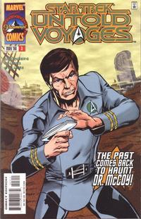 Cover Thumbnail for Star Trek: Untold Voyages (Marvel, 1998 series) #3