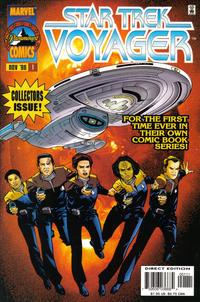 Cover Thumbnail for Star Trek: Voyager (Marvel, 1996 series) #1 [Direct Edition]