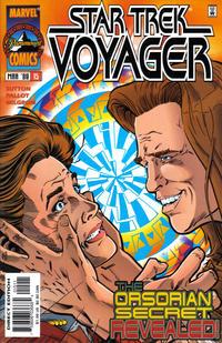 Cover Thumbnail for Star Trek: Voyager (Marvel, 1996 series) #15