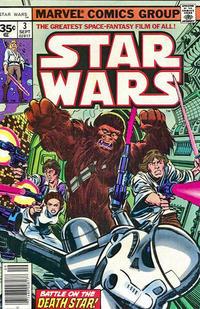 Cover Thumbnail for Star Wars (Marvel, 1977 series) #3 [35¢]