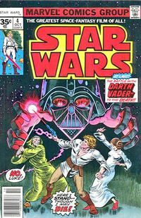 Cover Thumbnail for Star Wars (Marvel, 1977 series) #4 [35¢]