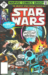 Cover Thumbnail for Star Wars (Marvel, 1977 series) #5 [Whitman Reprint Edition]