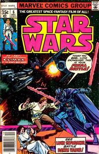 Cover Thumbnail for Star Wars (Marvel, 1977 series) #6 [Regular Edition]
