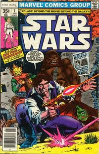 Cover Thumbnail for Star Wars (Marvel, 1977 series) #7 [Regular Edition]
