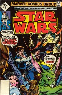 Cover Thumbnail for Star Wars (Marvel, 1977 series) #9 [Non-Newsstand Bagged]
