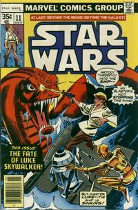 Cover Thumbnail for Star Wars (Marvel, 1977 series) #11 [Regular Edition]