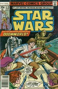 Cover Thumbnail for Star Wars (Marvel, 1977 series) #12 [Regular Edition]
