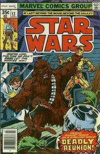 Cover Thumbnail for Star Wars (Marvel, 1977 series) #13 [Regular Edition]