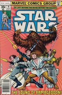 Cover Thumbnail for Star Wars (Marvel, 1977 series) #14 [Regular Edition]
