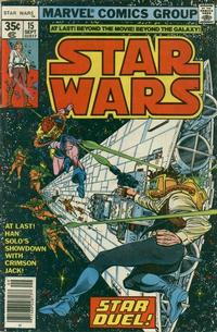 Cover Thumbnail for Star Wars (Marvel, 1977 series) #15 [Regular Edition]