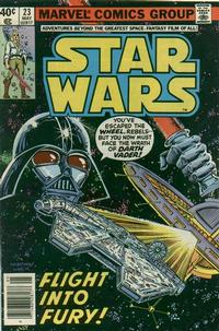 Cover Thumbnail for Star Wars (Marvel, 1977 series) #23 [Newsstand]