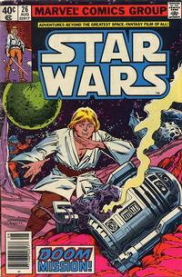 Cover Thumbnail for Star Wars (Marvel, 1977 series) #26 [Newsstand]