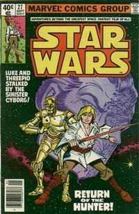 Cover Thumbnail for Star Wars (Marvel, 1977 series) #27 [Newsstand]