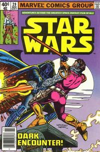 Cover Thumbnail for Star Wars (Marvel, 1977 series) #29 [Newsstand]