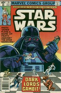 Cover Thumbnail for Star Wars (Marvel, 1977 series) #35 [Newsstand]