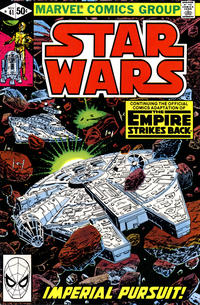 Cover Thumbnail for Star Wars (Marvel, 1977 series) #41 [Direct]