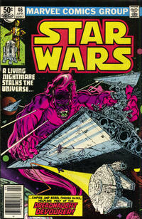 Cover Thumbnail for Star Wars (Marvel, 1977 series) #46 [Newsstand]