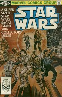Cover Thumbnail for Star Wars (Marvel, 1977 series) #50 [Direct Edition]