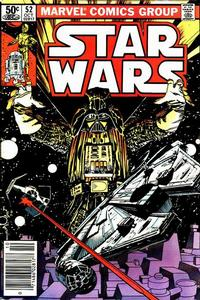 Cover Thumbnail for Star Wars (Marvel, 1977 series) #52 [Newsstand]